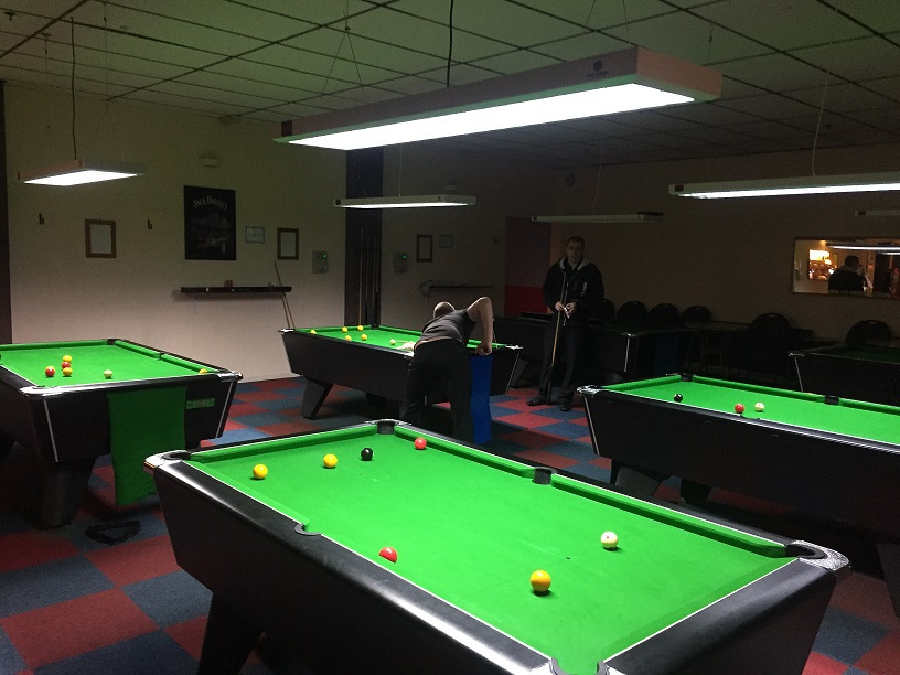 Tiger leisure cue sports specialists state of the art cue sports lighting solutions greentooth Images
